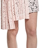 MSGM Lace Asymmetric-Pleated Pencil Skirt ($405)