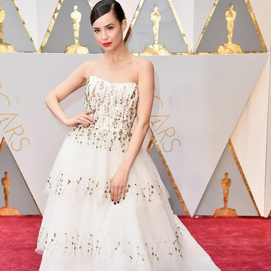 Sofia Carson at the 2017 Oscars
