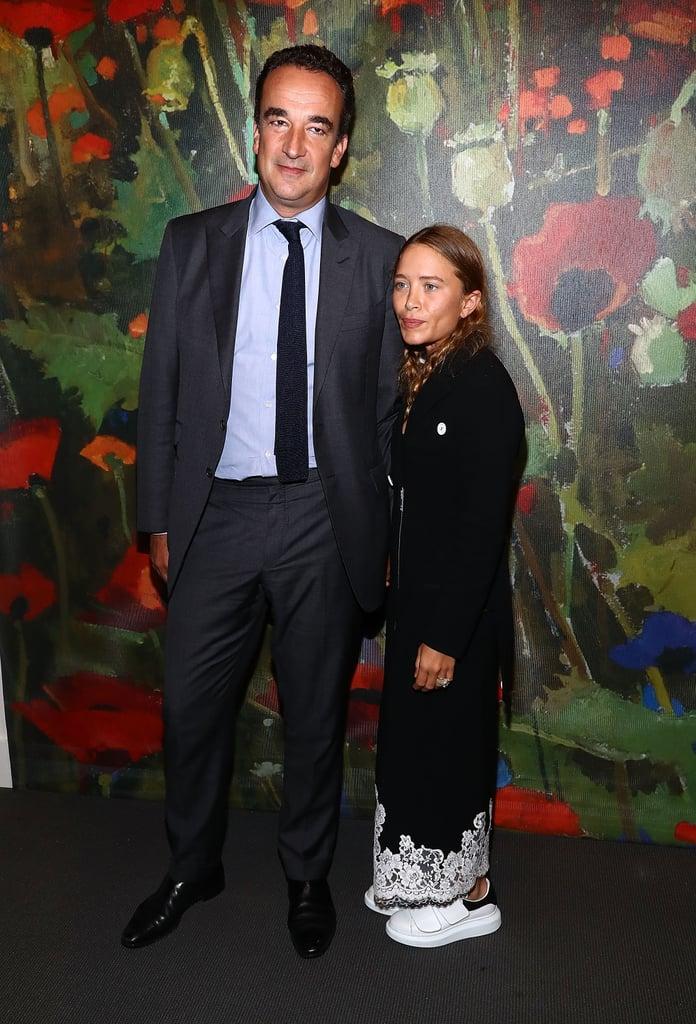 Mary-Kate Olsen Wearing Alexander McQueen Velcro Sneakers