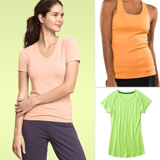 Cheap Fitness Tops For Spring
