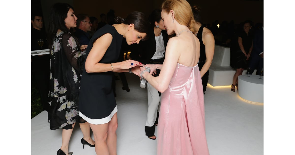 Katie Inspected Kate S Jewelry Katie Holmes And Jessica