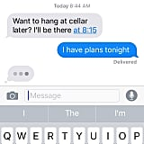 """Text I just got from my best friend @rachelfeinstein_ #myfriendssupporme"""
