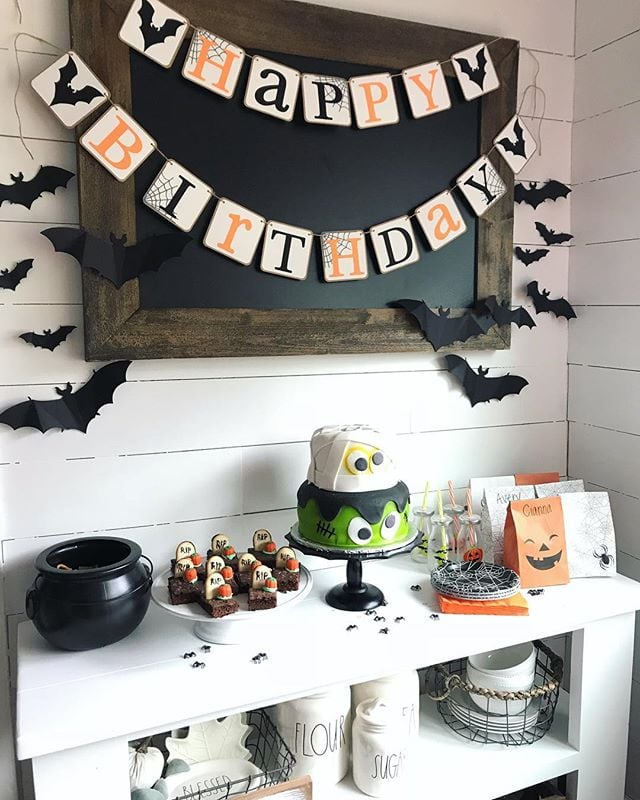 Halloween Themed Birthday Party For Toddler.Halloween Birthday Party Ideas For Kids Popsugar Family
