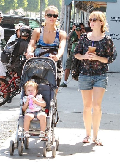 Jessica Alba and Honor out in Beverly Hills