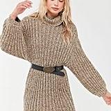 UO Jill Turtleneck Sweater Dress
