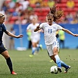 Alex Morgan at the 2016 Rio Olympic Games