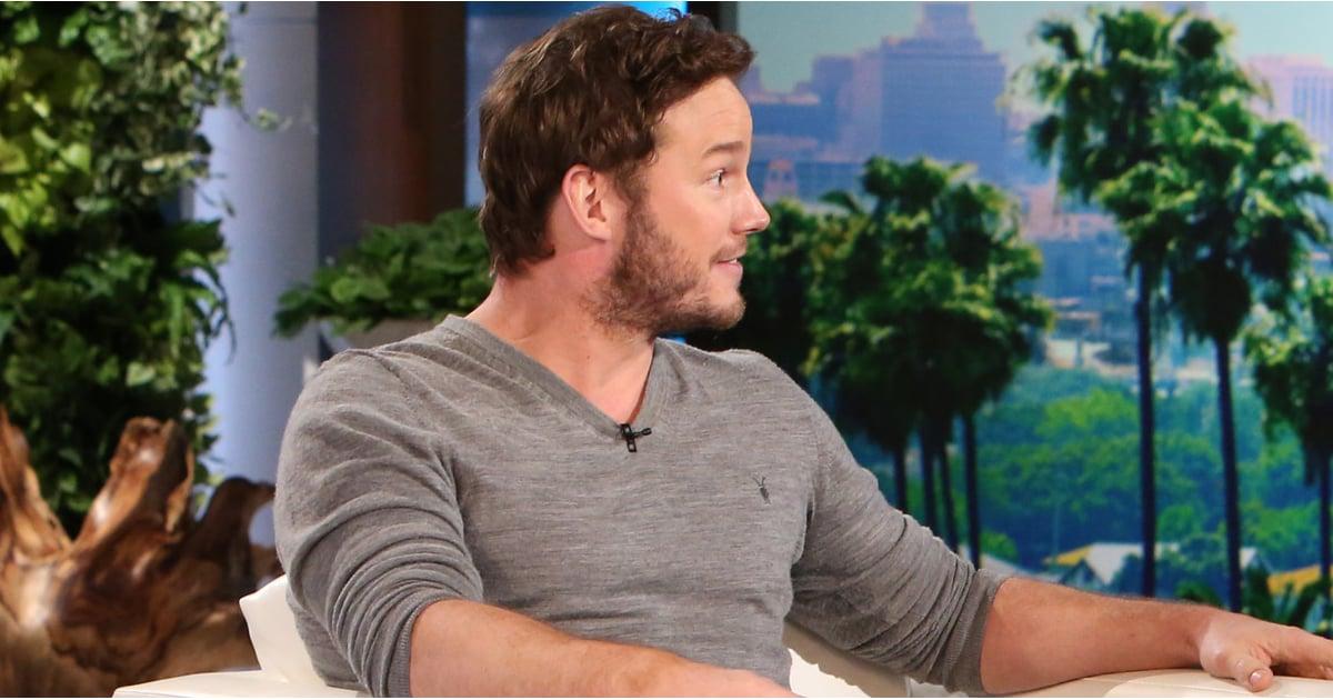 How To Check Antifreeze >> Chris Pratt on The Ellen DeGeneres Show January 2015 | Video | POPSUGAR Celebrity