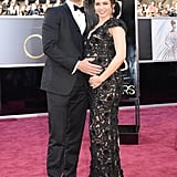 Channing Tatum and pregnant Jenna Dewan-Tatum hit the Oscars red carpet together.