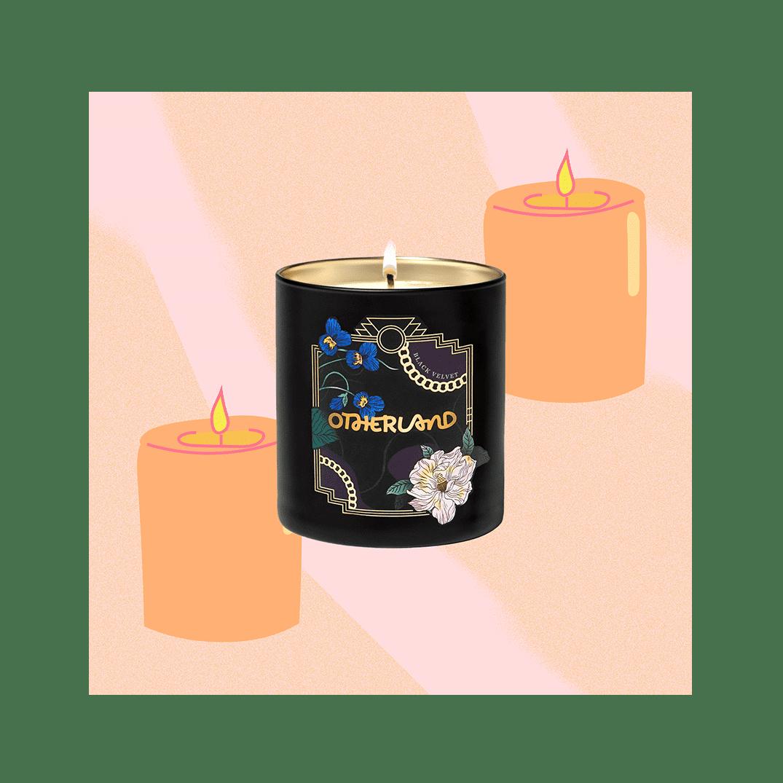 Otherland Black Velvet Jasmine Vegan Candle