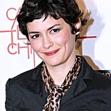 At the Paris premiere for Casse-Tete Chinois, Audrey Tautou looked gorgeous with her iconic pixie and pretty pink makeup.