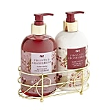 Frosted Cranberries Soap and Lotion Caddy