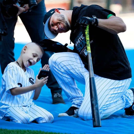 Boy With Cancer Hits Home Run at White Sox Game