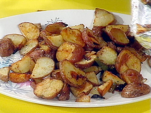 Oven Home Fries With Peppers and Onions