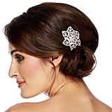 Jon Richard Diamante Crystal Flower Hair Slide