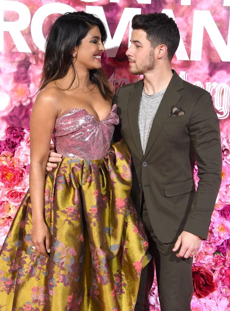 Nick Jonas and Priyanka Chopra at Isn't It Romantic Premiere