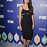 Jordana Brewster's Cutout Black Dress