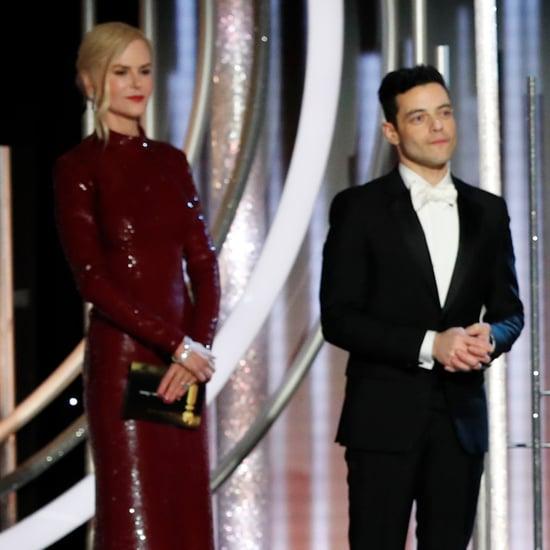 Did Nicole Kidman Snub Rami Malek at the Golden Globes?