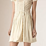 Burberry Silk and Italian Lace Dress ($3,795)