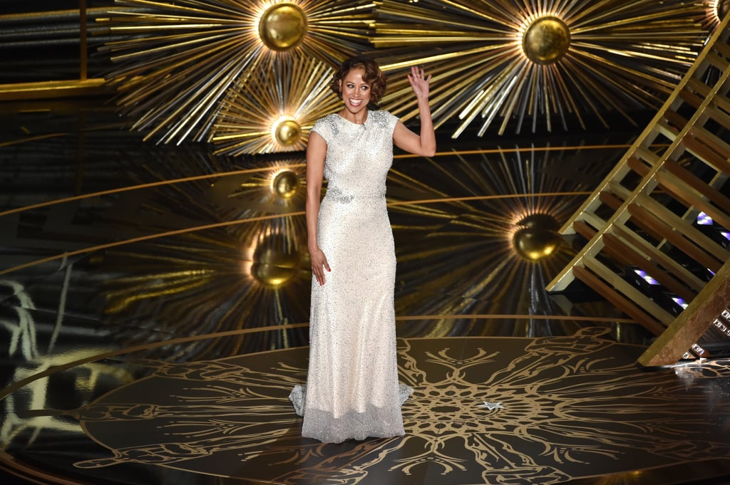 "It's safe to say people were a little confused about what, exactly, was going on when Stacey Dash hit the stage at the Oscars. ""It is my honor to introduce the new director of the minority outreach program,"" Chris Rock said. ""Please welcome Stacey Dash!"" With that, Stacey laughed as she made her way into the spotlight. ""I cannot wait to help my people out,"" she said, adding, ""Happy Black History Month!"" So what was that all about? Well, Stacey slammed the Oscars boycott back in January, saying, ""We have to make up our minds. Either we want to have segregation or integration. If we don't want segregation, then we need to get rid of channels like BET and the BET Awards and the [NAACP] Image Awards, where you're only awarded it you're black."" She added, ""If it were the other way around, we would be up in arms, it's a double standard. There shouldn't be a black history month. We're Americans. Period."" Soon after Stacey appeared at the Oscars, she tweeted a link to a blog post that explained her appearance. She wrote, ""We need to stop complaining about white people oppressing us, we shouldn't boycott the Oscars, and we need to support Chris Rock the host."" And as far as explaining where the joke came in, she said, ""When they added ME to increase the diversity, I'm sure many black people rolled their eyes. I'm not 'black enough'"" they say. But guess what? I've heard that all my life. I would rather be a free thinking, black than a cookie cutter black who thinks – and votes – just like all my friends."" Keep reading to see a clip of Stacey Dash's Oscars appearance — plus the can't-miss celebrity reactions to the buzzed-about moment.  The Stacey Dash bit was sooooo awkward #Oscars pic.twitter.com/hm9R8i9n5c — DCHomos (@DCHomos) February 29, 2016"