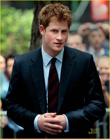 Prince Harry goes to Ground Zero