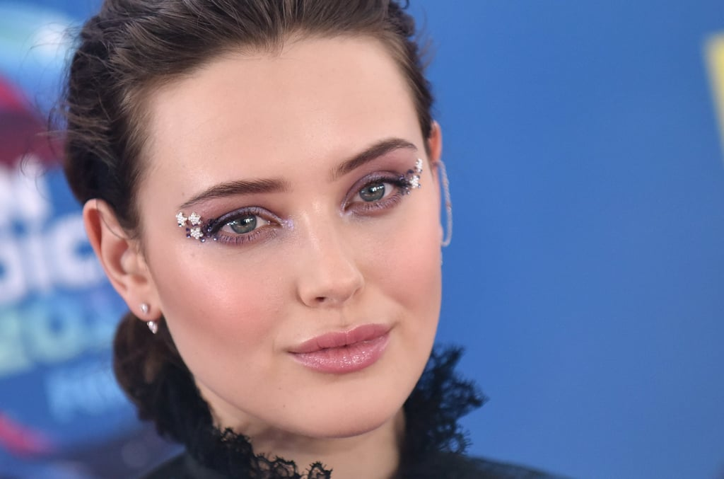 Katherine Langford Teen Choice Award Makeup 2018