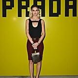 Chiara Ferragni at Prada Fall 2019