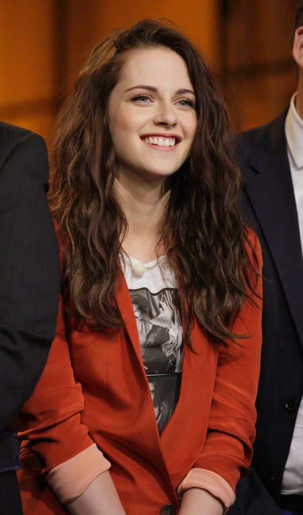 Kristen Stewart Leno Pictures May 2012