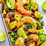 Lime Cilantro Shrimp and Black Bean Salad