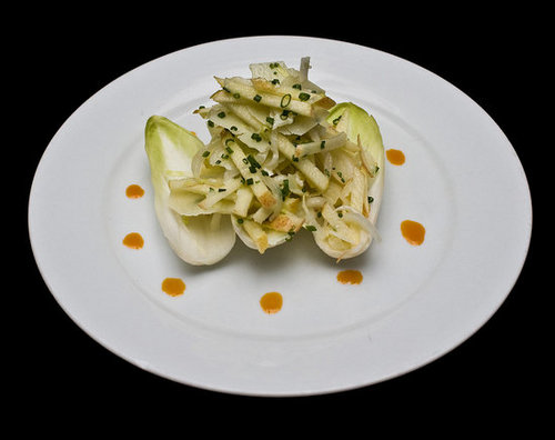 Apple and Endive Boats