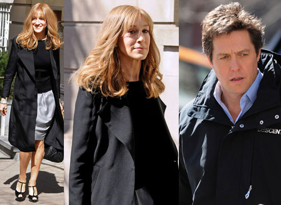 Photos Of Sarah Jessica Parker And Hugh Grant On Set Of Did You Hear About The Morgans In New York City Popsugar Celebrity Uk