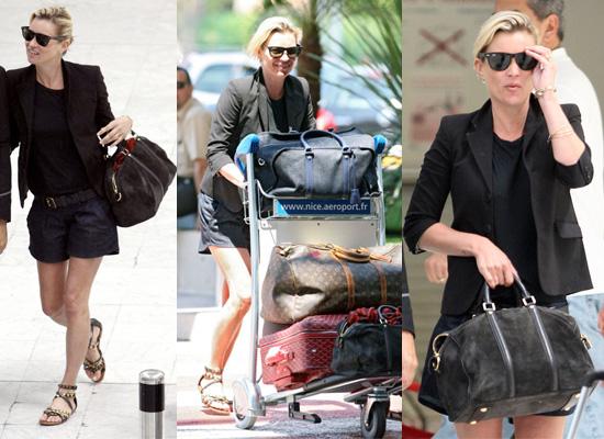 Kate Moss Style Airport Nice, Black Blazer | POPSUGAR Fashion UK